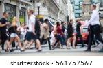 regent street with lots of... | Shutterstock . vector #561757567