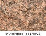 Close Up Of A Red Granite...