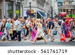 london  uk   august 24  2016  ... | Shutterstock . vector #561761719