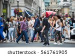london  uk   august 24  2016  ...   Shutterstock . vector #561761905