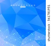 geometric abstract background... | Shutterstock .eps vector #561781951
