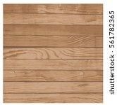 vector wood plank background.... | Shutterstock .eps vector #561782365