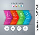 business infographics template... | Shutterstock .eps vector #561790891