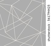 vector seamless triangles... | Shutterstock .eps vector #561794425