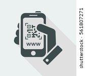 qr code link | Shutterstock .eps vector #561807271