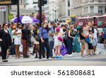 london  uk   august 24  2016 ... | Shutterstock . vector #561808681