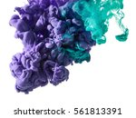 abstract splash of paint... | Shutterstock . vector #561813391