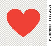 heart icon | Shutterstock .eps vector #561815101