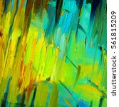 abstract painting for an... | Shutterstock . vector #561815209