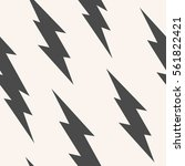 flash  lightning bolt seamless... | Shutterstock .eps vector #561822421