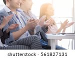 hands close up. group young...   Shutterstock . vector #561827131