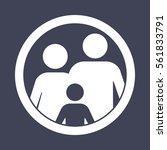 family icon | Shutterstock .eps vector #561833791