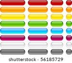 long and short web buttons.   Shutterstock .eps vector #56185729
