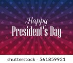 happy presidents day. festive... | Shutterstock .eps vector #561859921