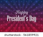 happy presidents day. festive...   Shutterstock .eps vector #561859921