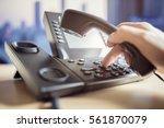 dialing telephone keypad... | Shutterstock . vector #561870079