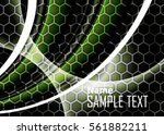 green abstract template for... | Shutterstock .eps vector #561882211
