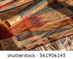 "oriental colored berber carpet ""... | Shutterstock . vector #561906145"