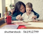 family people feelings... | Shutterstock . vector #561912799