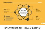 atom percentage chart slide... | Shutterstock .eps vector #561913849