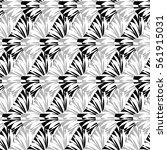 abstract decorative vector... | Shutterstock .eps vector #561915031