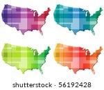 raster image of vector ... | Shutterstock . vector #56192428