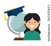 education equipment flat icons   Shutterstock .eps vector #561932611
