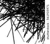 random edgy  zigzag  lines... | Shutterstock .eps vector #561935971