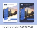 poster flyer pamphlet brochure... | Shutterstock .eps vector #561942349