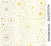 vector golden white abstract... | Shutterstock .eps vector #561957574