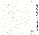 vector confetti background for... | Shutterstock .eps vector #561963649