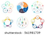 business infographics. elements ... | Shutterstock .eps vector #561981739