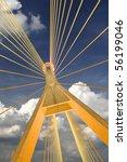 bhumibol bridge in thailand | Shutterstock . vector #56199046