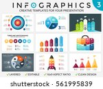 vector circle arrows... | Shutterstock .eps vector #561995839