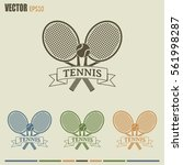 tennis icon | Shutterstock .eps vector #561998287