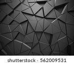 triangle poligon pattern... | Shutterstock . vector #562009531