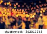 vintage tone blur image of food ... | Shutterstock . vector #562013365