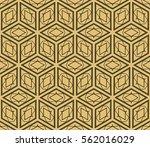 geometric patterns. vector... | Shutterstock .eps vector #562016029
