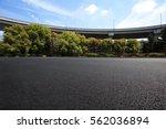 empty road floor surface with...   Shutterstock . vector #562036894