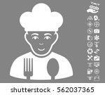 cook icon with bonus quad...   Shutterstock .eps vector #562037365
