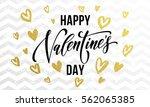 premium gold hearts for...   Shutterstock .eps vector #562065385