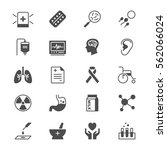 health care flat icons | Shutterstock .eps vector #562066024