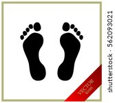 Traces Of Feet  Icon