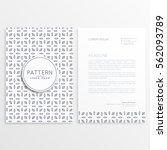 company letterhead design for... | Shutterstock .eps vector #562093789