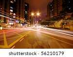 modern urban city with freeway... | Shutterstock . vector #56210179
