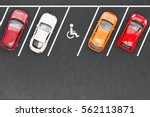parking for the disabled | Shutterstock . vector #562113871