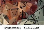 abstract pattern consisting of... | Shutterstock .eps vector #562122685