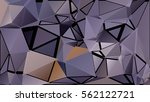 abstract pattern consisting of... | Shutterstock .eps vector #562122721