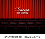 movie cinema premiere poster... | Shutterstock .eps vector #562123741