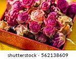 Dried Sweet Little Rosebuds In...